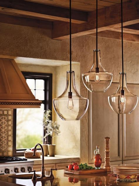 kitchen light fixtures over island 25 best ideas about kitchen pendant lighting on pinterest