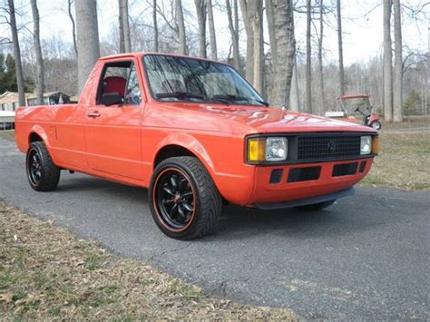 volkswagen rabbit truck sell used 1982 vw volkswagen rabbit pickup truck in