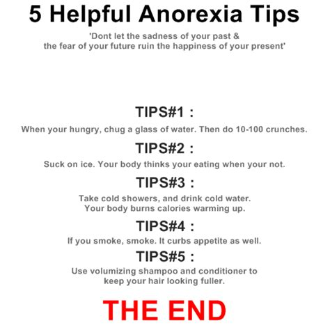Tips To Be Professional Anorexia Diet Tips Alexia Maron