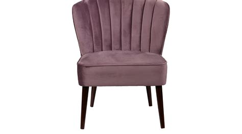 229 99 Cecelia Purple Accent Chair Upholstered Plush Purple Accent Chairs Living Room