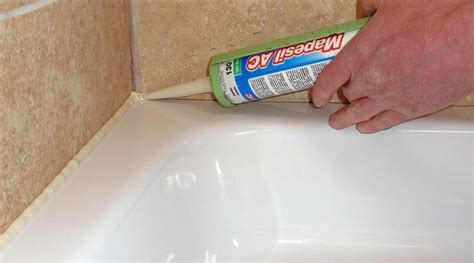sealing a bathtub how to seal a shower tray detailed guide with images