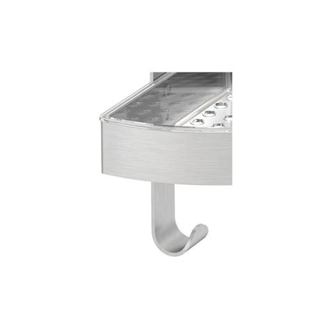 Stainless Corner Shelf by Bathroom Corner Shelf Grundtal Stainless Steel Ebay