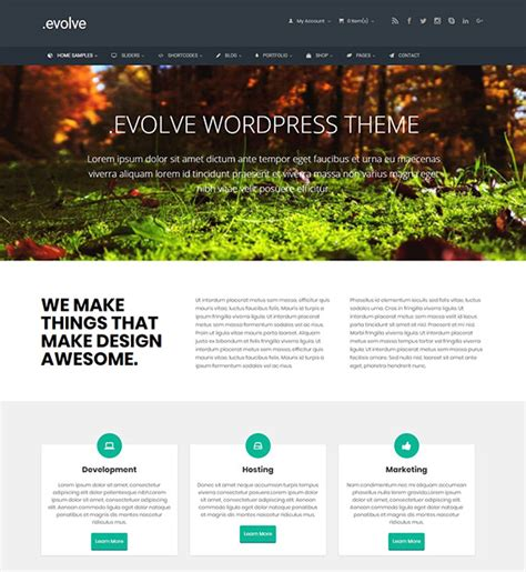 themes wordpress evolve evolve wordpress ecommerce theme beautiful themes