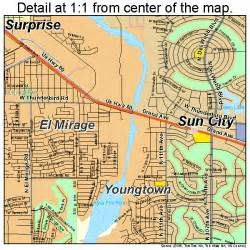 glendale arizona map 0427820