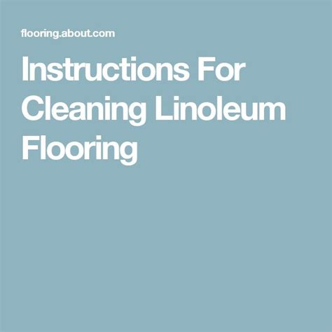 How To Clean A Linoleum Floor by How To Clean Linoleum Floors With Carpet Review