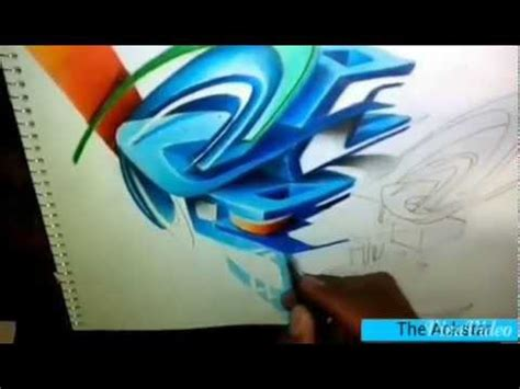 imagenes de letras variadas graffiti 3d youtube