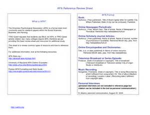 Reference List Template Apa Best Photos Of Apa Format Book Review Book Review Format