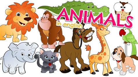 imagenes de animales en ingles y español nombres de los animales en ingl 201 s para ni 241 os vocabulario