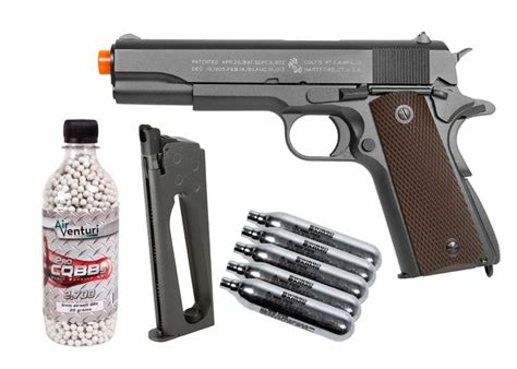 Airsoft Gun Co2 Colt 1911 Co2 Metal Blowback Airsoft Pistol Kit Airsoft Guns