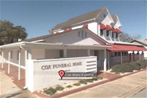 cox ware funeral home bainbridge ga funeral