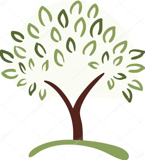 symbolism of a tree tree symbol stock vector 169 ghenadie 5635238