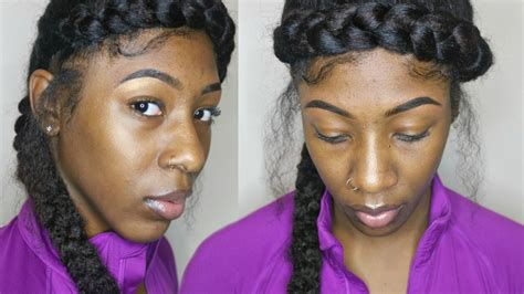 Halo Hair Styles For Hair by Extended Halo Braid On Hair 3 Hair Styles