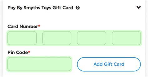 Smyths Gift Card Online - gift cards smyths toys