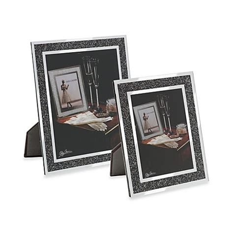 bed bath and beyond frames oleg cassini hematite picture frame bed bath beyond