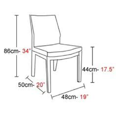 Average Dining Room Chair Dimensions 1000 Images About Architecture Standardsize On