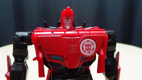 Robo S H F By Greenland Toys robots in disguise 2015 one step changer sideswipe emgo s