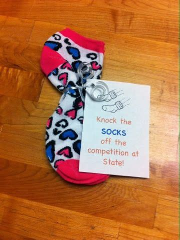 diy team socks 25 best ideas about cheerleading treats on cheer treats spirit gifts and football