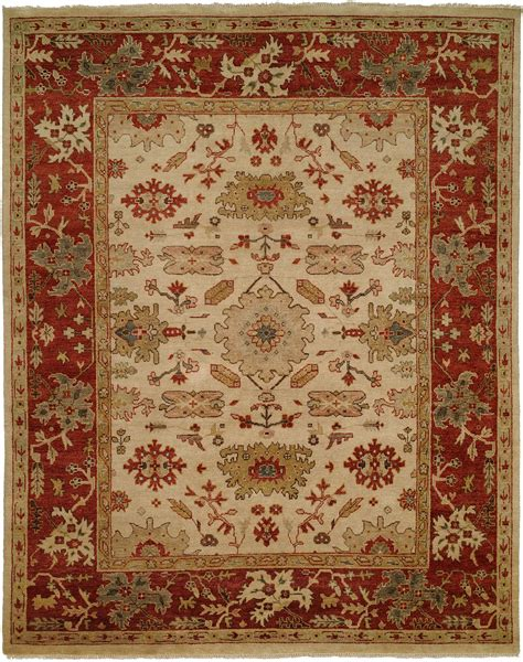 Area Rugs With Borders Ivory Field With Rust Border Area Rug