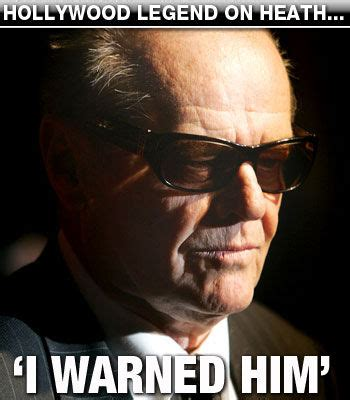Jack Nicholson Meme - i warned him know your meme