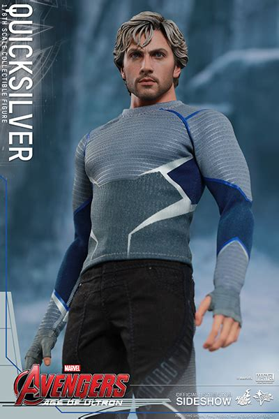 figure quicksilver marvel quicksilver sixth scale figure by toys