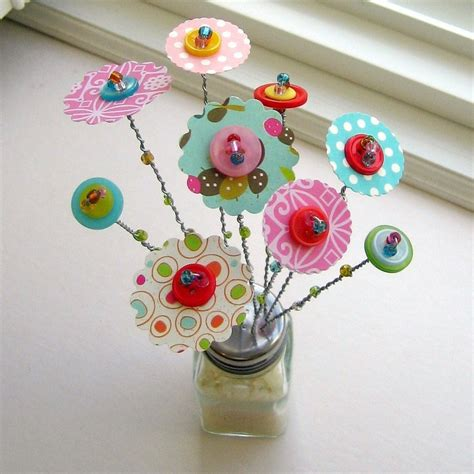 home button decorations valentine flowers valentine button bouquet flower
