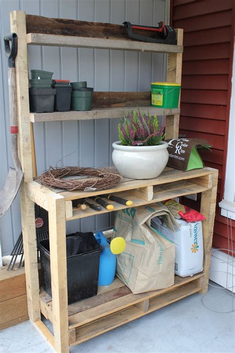 garden potting table for sale palette potting bench eco lounge reclaimed recycled u