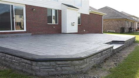 Concrete Patio Cost by Patio Flooring Options Sted Concrete Patio Cost Cost