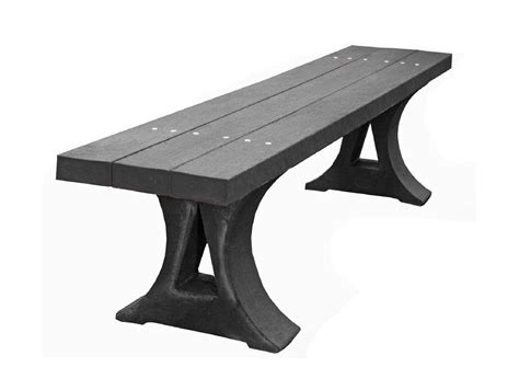 plastic benches uk mplas bench in recycled plastic