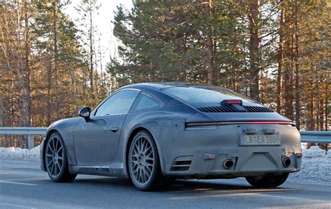 porsche new porsche 911 992 generation spy shots and first details
