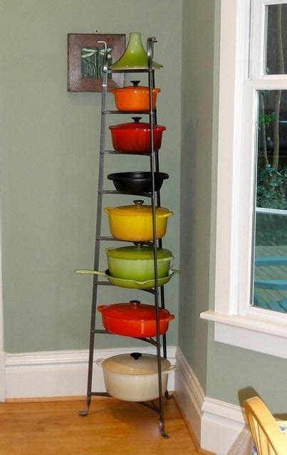 Enclume Pot Rack for Le Creuset collection   staub and le