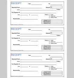 Money Receipt Template by Money Receipt Template Format Format Of Money Receipt