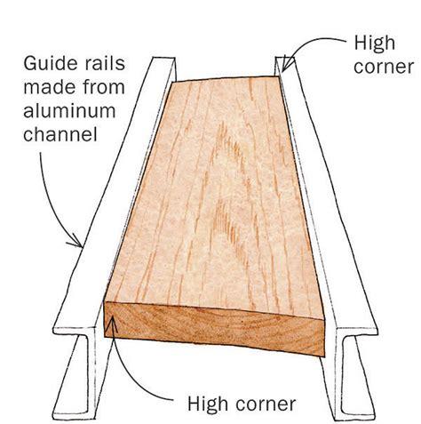 flatten warped boards   planer