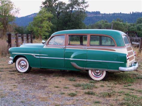ford chieftain 53 pontiac chieftain tin woody station wagon cars