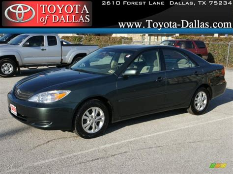 2004 toyota camry le v6 2004 aspen green pearl toyota camry le v6 46243902