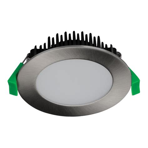 Downlight Led 10w tek 10 10w dimmable led downlight satin chrome