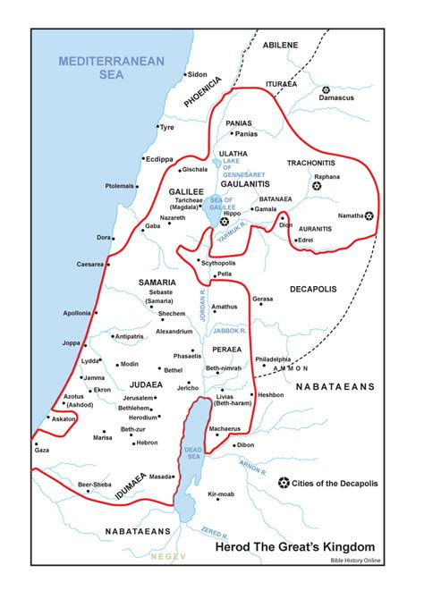 testament maps map of israel in the time of chart of the of
