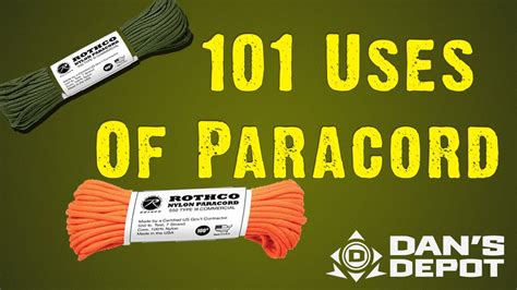 101 Uses of Paracord   Survival, Homesteading and Zombies   YouTube