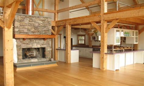Barn Style Home Floor Plans barn style house plans barndominium interior