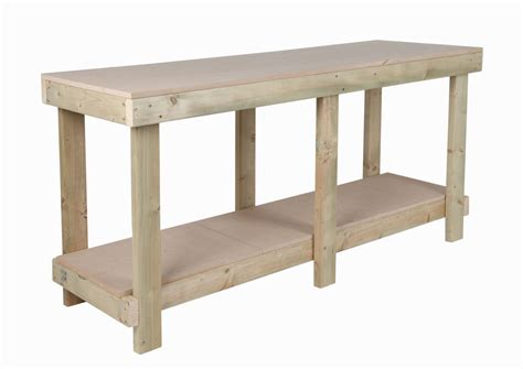 work bench table new 6 ft work bench 18 mm mdf top wooden workbench heavy
