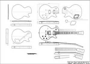 Blueprint Pdf Cara Membuat Gitar Elektrik Gibson 50 S Les Paul