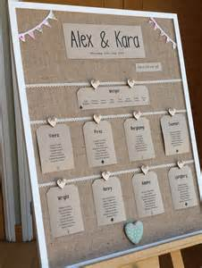 Wedding Table Plan Ideas Alternative Table Plan Ideas Wasing Park