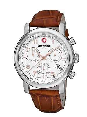 Wenger Vintage Chrono 43mm Swiss Made 011043110 wenger classic chrono gents 01 1043 104
