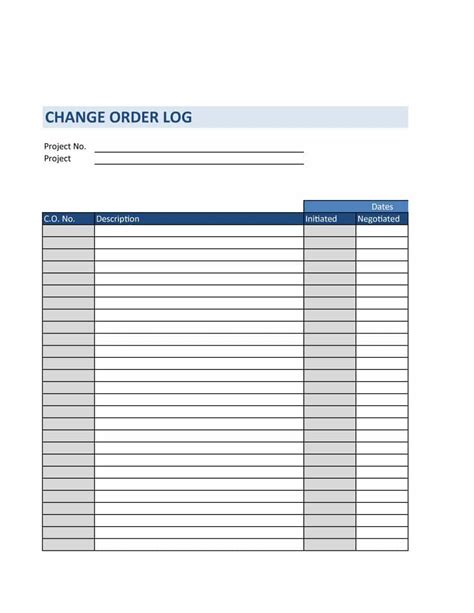 form template 40 order form templates work order change order more