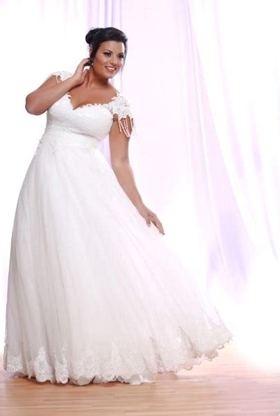 Plus Size Wedding Dresses With Sleeves by 50 Beautiful Plus Size Wedding Gowns Pink Lover