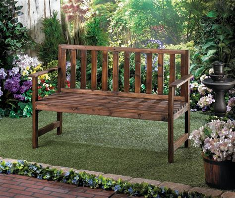Garden Grove Chords Garden Grove Fir Wood Wooden Yard Patio Bench Ebay