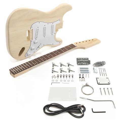 diy guitar kit la electric guitar diy kit at gear4music