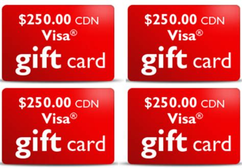 Win Free Visa Gift Card - free gift cards free stuff finder canada part 2