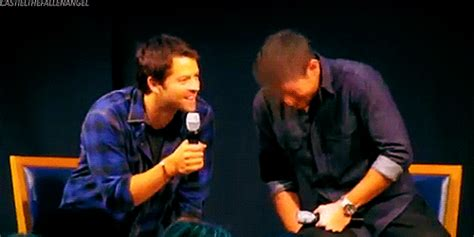 amigas gif tumblr they all want to hold him all gently oh misha