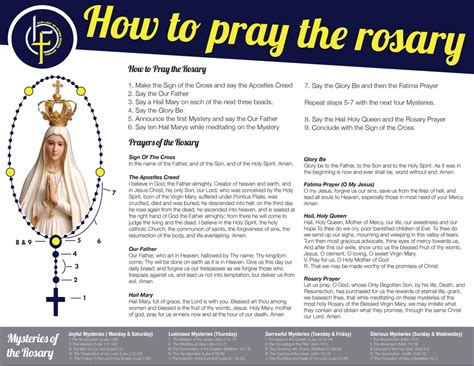 how to use rosary to pray how to pray the rosary our of fatima