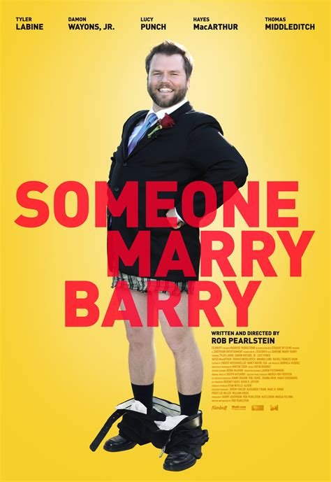 is tyler labine married someone marry barry trailer poster tyler labine finds